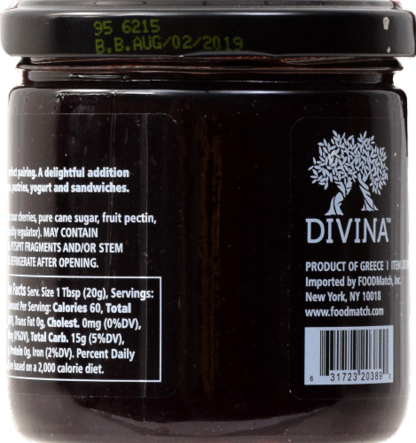 Divina Sour Cherry Spread Perspective: right