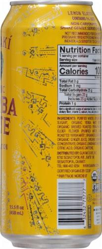 Guayaki Lemon Elation Yerba Mate Perspective: right
