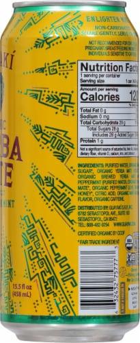 Guayaki Yerba Mate Organic Enlighten Mint Energy Drink Perspective: right