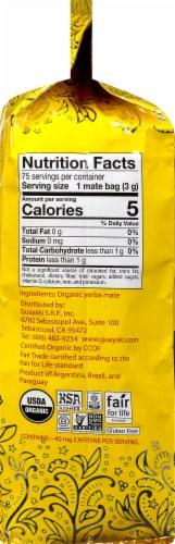 Guayaki Yerba Mate Organic Traditional Tea Bags Perspective: right