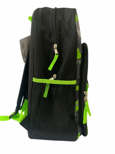Cudlie Backpack - Green Camo Perspective: right