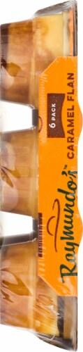 Raymundo's Single Serve Caramel Flan 6 Count Perspective: right