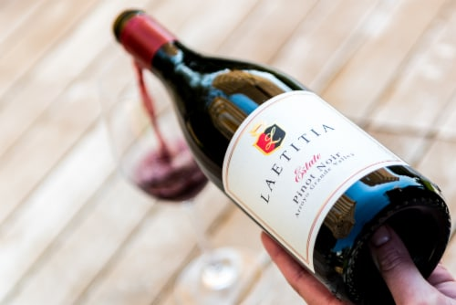 Laetitia Estate Pinot Noir Red Wine Perspective: right