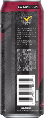 Mike's Harder Cranberry Malt Beverage Perspective: right
