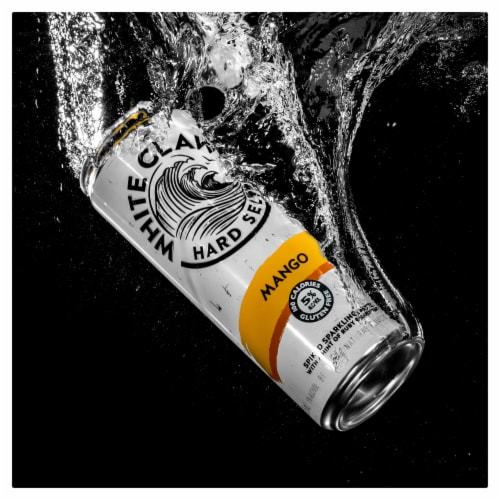 White Claw Mango Hard Seltzer Perspective: right
