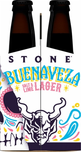 Stone Brewing Co. Buenaveza Salt & Lime Lager Perspective: right