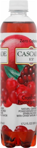 Cascade Ice Cranberry Pomegranate Flavored Sparkling Water Perspective: right