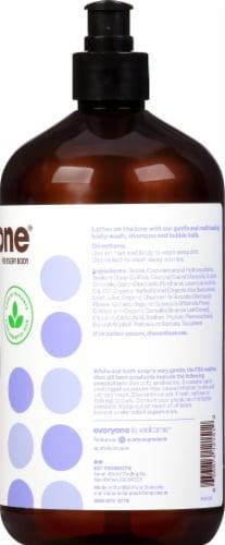 Everyone Lavender + Aloe 3 in 1 Shampoo Body Wash & Bubble Bath Perspective: right