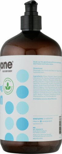 EO Unscented Lotion Perspective: right