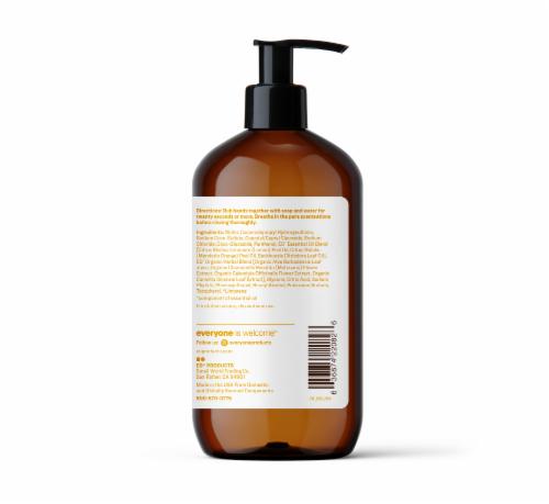 Everyone Meyer Lemon & Mandarin Liquid Hand Soap Perspective: right
