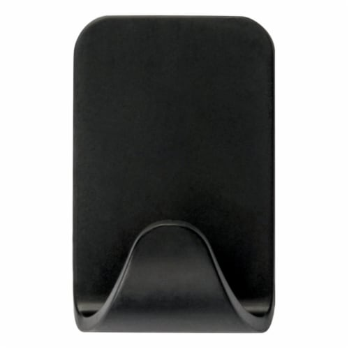 Command™ Small Hooks - Matte Black Perspective: right