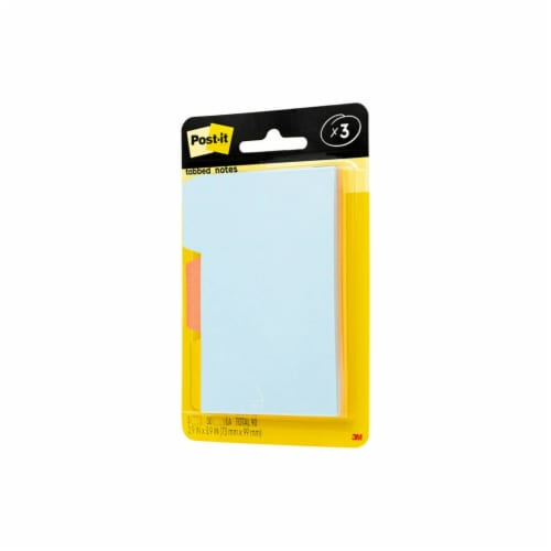 Post-it® Super-sticky Notepads - 3 Pack Perspective: right