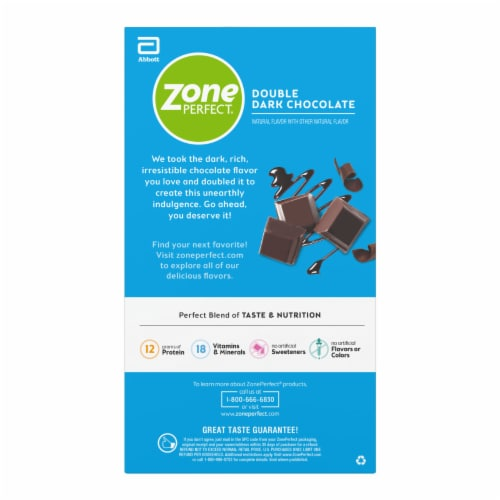 ZonePerfect Double Dark Chocolate Nutrition Bars Perspective: right