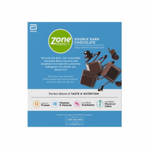 ZonePerfect® Double Dark Chocolate Nutrition Bars Perspective: right