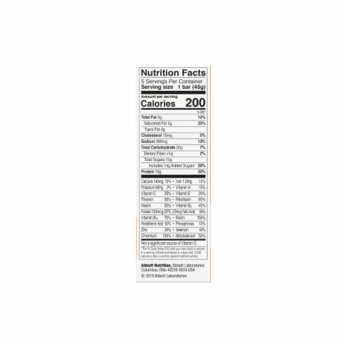 ZonePerfect Salted Caramel Brownie Nutrition Bars Perspective: right