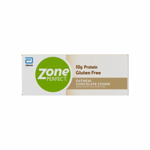 ZonePerfect Oatmeal Chocolate Chunk Bars Protein Bars Perspective: right