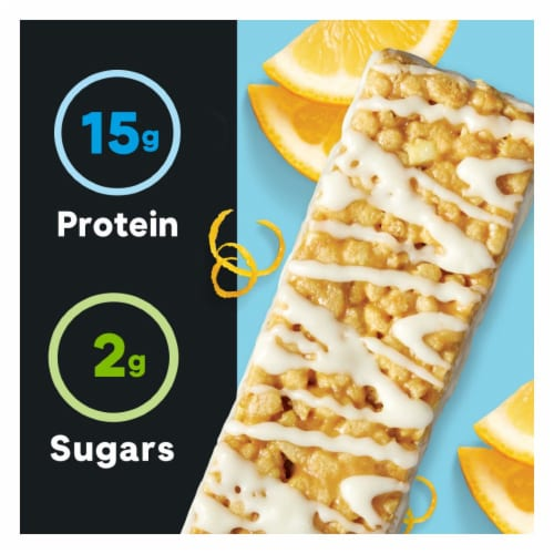 ZonePerfect Macros Lemon Pound Cake Protein Bars Perspective: right