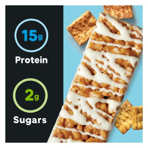 ZonePerfect Macros Cinnamon Toast Cereal Protein Bar Perspective: right