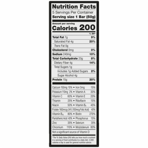ZonePerfect Macros Chocolatey Cereal Protein Bars Perspective: right