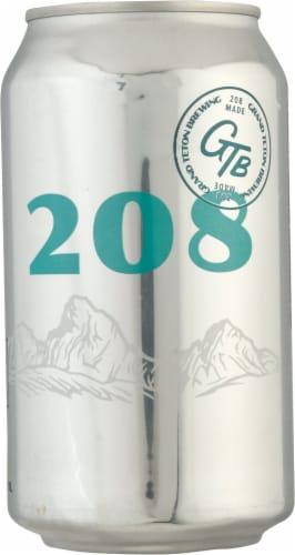 Grand Teton Brewing Co. 208 Session Ale Perspective: right