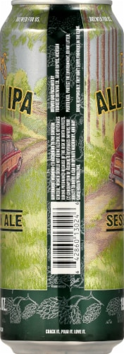 Founders Brewing All Day IPA Session Ale Perspective: right