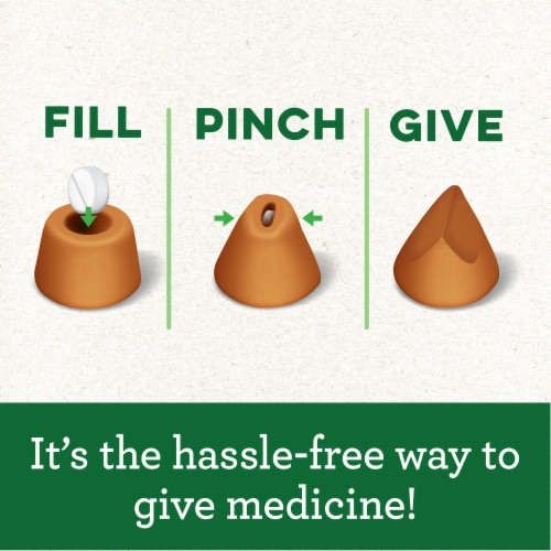 Greenies Pill Pockets Chicken Flavored Tablet Size Dog Treats 30 Count Perspective: right