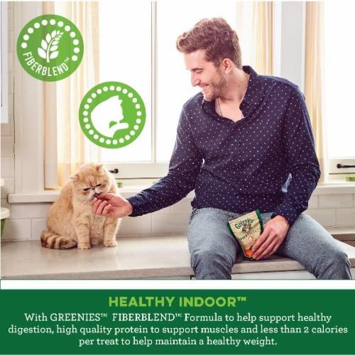 Greenies™ Feline Smartbites™ Hairball Control Treats Chicken Perspective: right