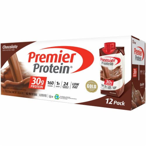 Premier Chocolate Protein Shake Perspective: right