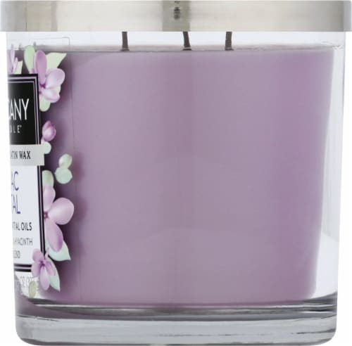 Tuscany Candle Lilac Petal Jar Candle Perspective: right