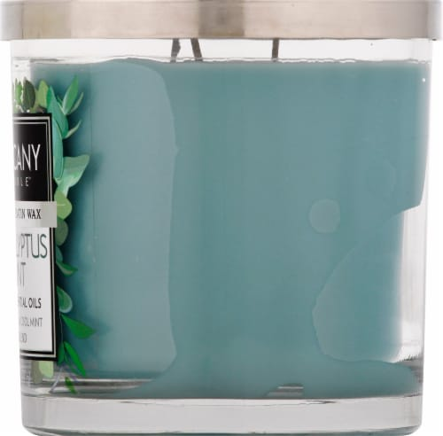 Tuscany Candle Eucalyptus Mint Scented Jar Candle - Green Perspective: right