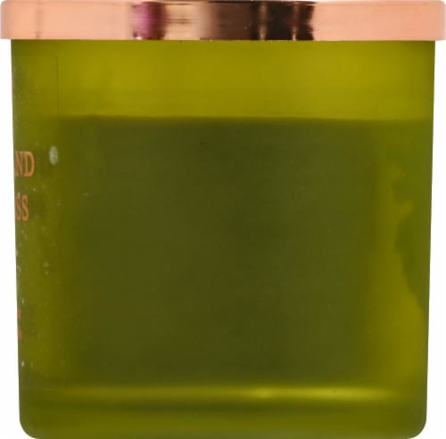 Tuscany Candle Cedar & Oakmoss Jar Candle - Green Perspective: right