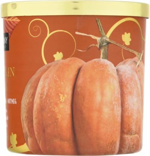 Tuscany Candle Pumpkin Patch Scented Jar Candle Perspective: right