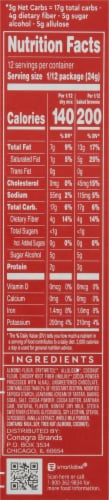 Duncan Hines Keto Friendly Chewy Fudge Brownie Mix Perspective: right