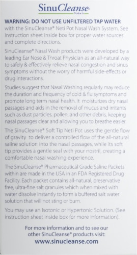 SinuCleanse® Neti Pot Perspective: right