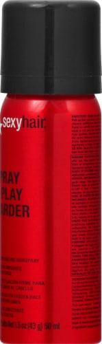 Big Sexy Hair Spray & Play Harder Hairspray Perspective: right
