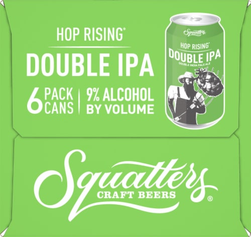 Squatters Hop Rising Double IPA Perspective: right