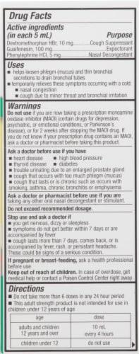 Tukol Adult Extra Strength Multi Symptom Cold Medicine Perspective: right