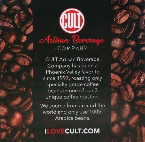 CULT Organic Honduras Comucap Single Serve Coffee Cups Perspective: right