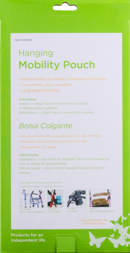 Nova Hanging Mobility Pouch - Black Perspective: right