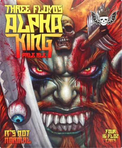 Three Floyds Alpha King Pale Ale Perspective: right