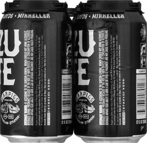 WarPigs Lazu Rite IPA Beer Perspective: right