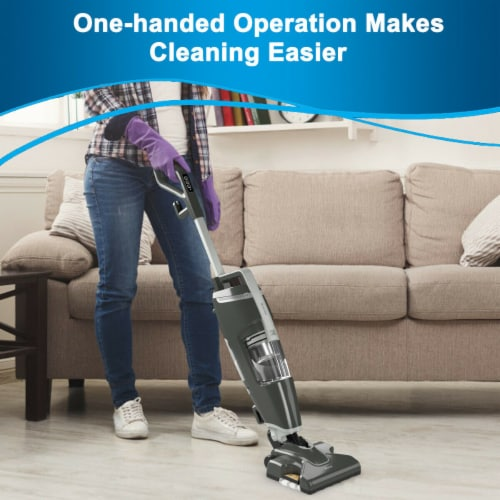 Costway Lightweight Upright Vacuum Cleaner Steam Mop Wet-Dry Vacuum Perspective: right