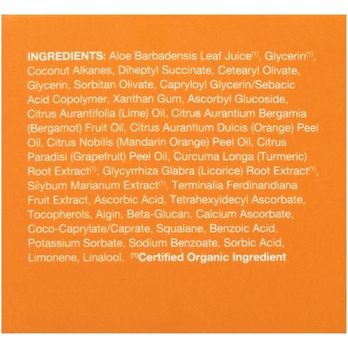 Avalon Organics Vitamin C Gel Cream Moisturizer Perspective: right