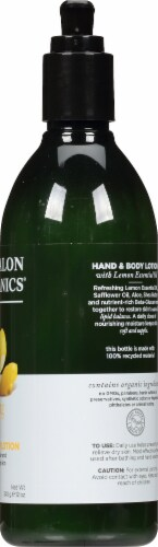 Avalon Organics Lemon Lotion Perspective: right