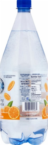 Crystal Geyser Orange Sparkling Mineral Water Perspective: right