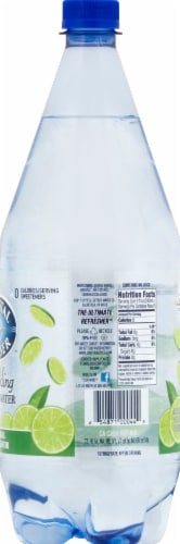 Crystal Geyser Lime Sparkling Mineral Water Perspective: right