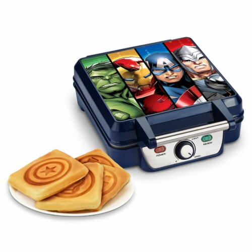 Marvel Avengers Waffle Maker Perspective: right