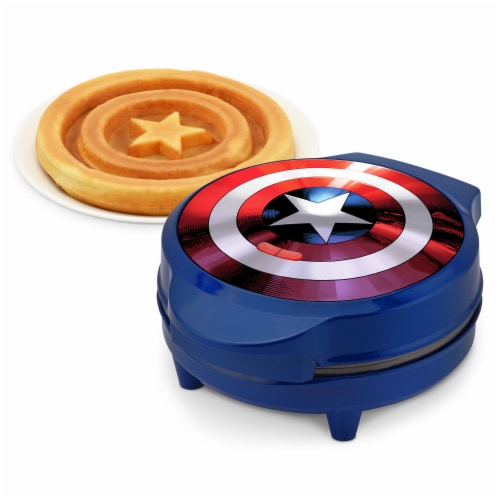 Marvel Captain America Waffle Maker Perspective: right