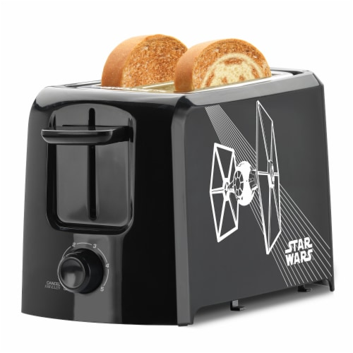Select Brands Star Wars 2-Slice Toaster - Black/White Perspective: right