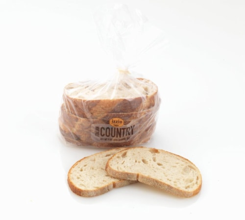 Izzio Italian Country Bread 8 Count Perspective: right